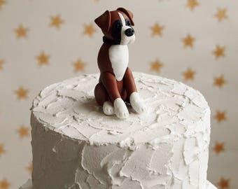 Alsatian Cake Topper