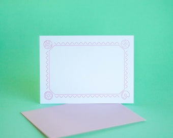 Doughnut Flat Notecard Set