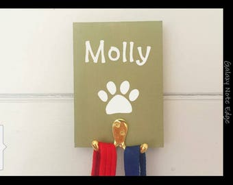 Dog Leash Holder Personalized
