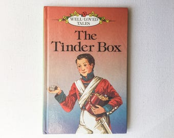 Ladybird The Tinder Box Book,  Well Loved Tales Series 606D, Hans Andersen Story, Gloss Hardback, 1984 Edition, 00325