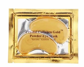 Gold infused Collagen Eye Masks