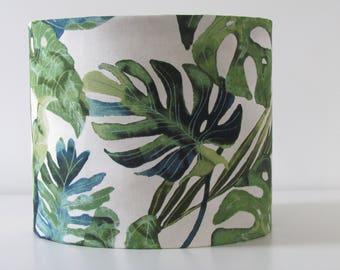 Handmade Botanical Palm Banana Leaves Tropical 25cm 30cm 40cm Lightshade Lampshade