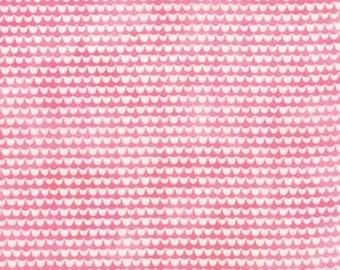 Fresh Cut Scallop in Pink by Basic Grey for Moda by the HALF yard, 30397 12