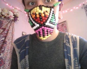 Abstract kandi mask