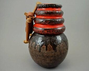 Vintage vase / Scheurich / 269 22 / Decor Wien | West Germany | WGP | 60s