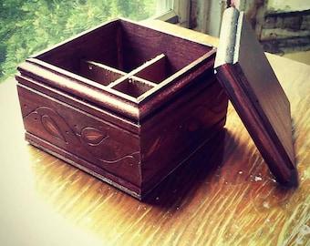 Wooden Seed Storage Box / Organizer