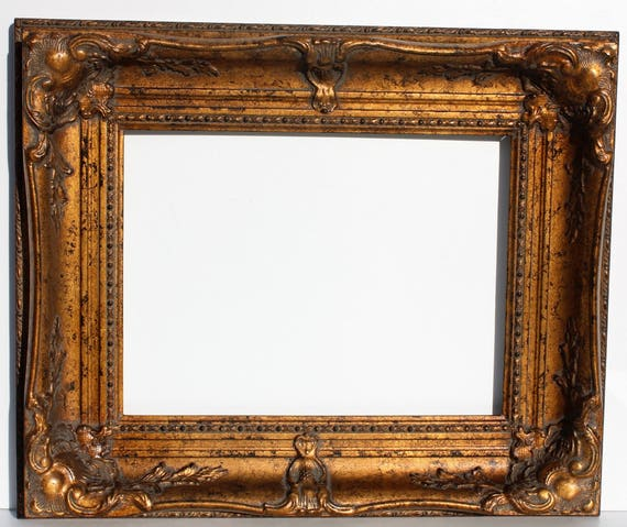 Gold Ornate Picture Frames Baroque Wedding Frame Rococo Wood