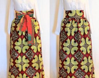 African Ankara Print skirt Women's Clothing Africa Skirts Ankara Easter Dashiki Skirt Prom Dress Dinner Dress Summer Skirt Wedding Dress