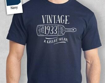 85th Birthday, 1933 Birthday, 1933 Legend. Men's Hoodie, 85th Birthday Gift, 85th Birthday Idea, 85 Birthday Present, 85 Birthday Gift!