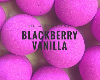Blackberry Vanilla Bath Bomb