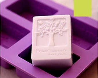 FREE SHIPPING four cavity Life Tree silicone mold