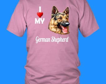 German Shepherd Mom, German Shepherd Tee, Dog Lover Shirt, German Shepherd Gift, German Shepherd, German Shepherd Dog, Dog, Police Dog