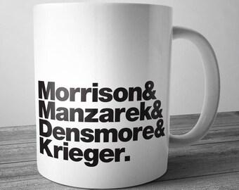 Doors Rock Band Mug