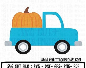 SALE- Pumpkin truck - fall svg - pumpkin patch svg - halloween svg - pumpki