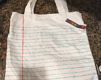 Personalized teacher tote bag!