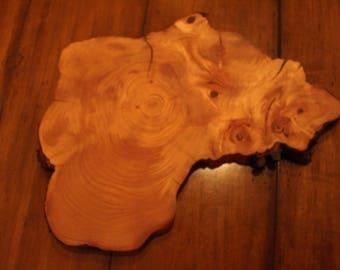 Cypress Wood Serving Platter