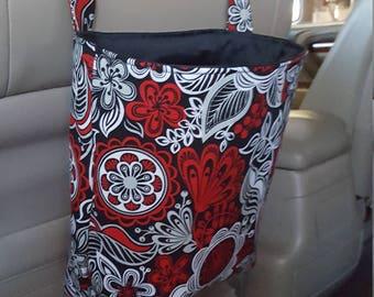 Car Trashbag-Car Trash Bag-Car Caddy-Car Organizer-Car Garbage Bag-Car Toy Bag-Kids Car Bag-Headrest Bag-Trash Bag-Auto Trash Bag