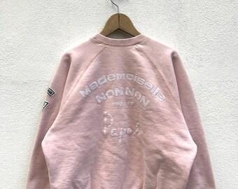 20% OFF Vintage Papas Sweatshirt / Mademoiselle Non Non Sports Papas Sweater / Designer