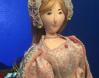 Handmade Cloth Doll Daphne