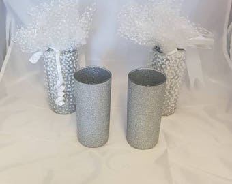 Glitter Glass Tall Glass Tumbler, Hen Do, Party, Gift Wrapped