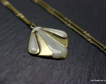 Art deco Theodora, pendant, necklace pendant
