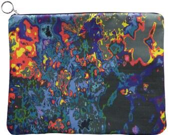 MERI Silk Abstract CLUTCH Bag by KJS Studio