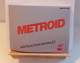NES Metroid -  Replacement Manual