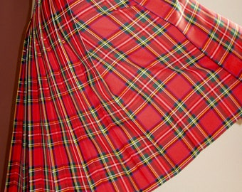 Red Royal Stewart Men's Kilt~Custom make Kilt Plus size men's kilts~recreational kilt Hiking Kilt Wedding Kilt Royal Stewart kilt@sohoskirts