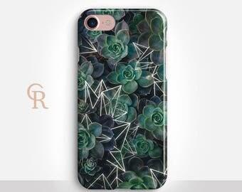 Succulent iPhone 7 Case For iPhone 8 iPhone 8 Plus iPhone X Phone 7 Plus iPhone 6 iPhone 6S iPhone SE Samsung S8 iPhone 5 Samsung S8 Plus