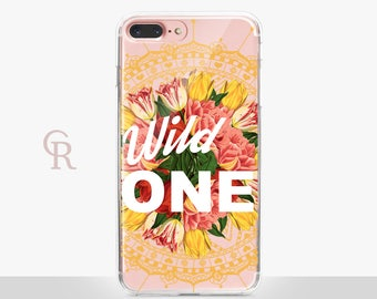 Wild Clear Phone Case For iPhone 8 iPhone 8 Plus iPhone X Phone 7 Plus iPhone 6 iPhone 6S  iPhone SE Samsung S8 iPhone 5 Transparent