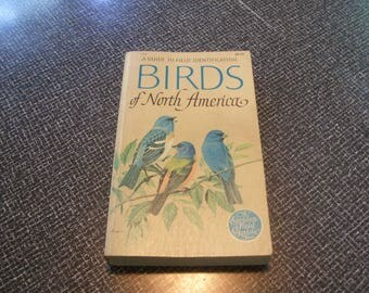 Birds of North America 1966 Pb A Guide to Field Identification Vintage