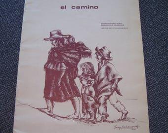 Lucy Jochamowitz Prints  Reflexiones para el Camino 1976 Rural Bambamarca - Cajamarca Peru Set of 19 Vintage