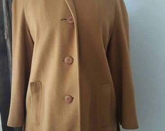 1950s cashmere coat | Etsy