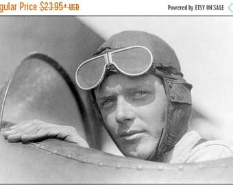 20% Off Sale - Poster, Many Sizes Available; Charles Lindbergh