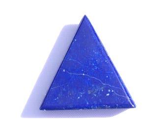 Lapis lazuli triangle shaped cabochon