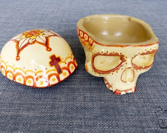 Home Skull, skull, vanity, skull, Skull Box Mandala Calaveras 10
