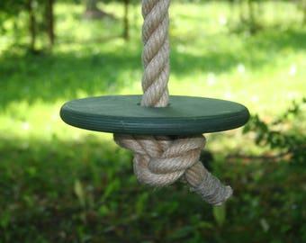 Green Rope Swing, 6 30 Feet (2 10m) Long 1.2 Inch