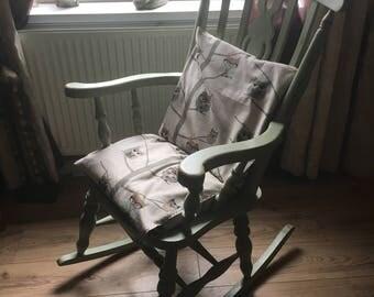 up cycled vintage nursing rocking chair - Nursing Rocking Chair