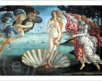 fabric panel - Sandro Botticelli (2). For sewing, patchwork, quilting.