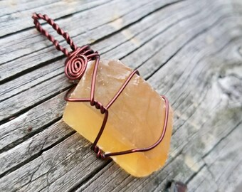 Honey Calcite for Amplified Personal Power and Will