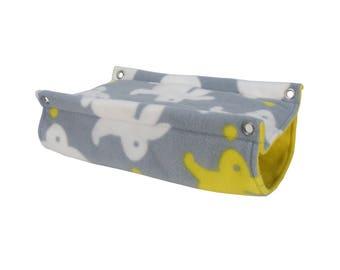 Ferret Hammock - Rat Hammock - Double Decker Hammock - Tube Hammock - Tunnel Hammock - Cage accessories, Rat Cage, Ferret Cage, Rat Toy