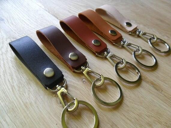 Belt Strap Keys Holder Keychain With Snap Hook Belt Loop Key