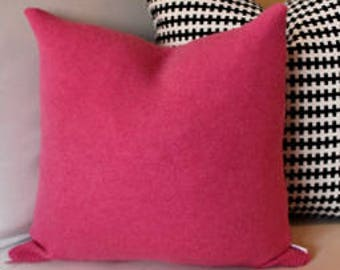 Pink Pure Cashmere Pillow