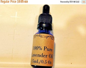 End of Summer CLEARANCE 100% Pure Lavender Essential Oil, 15 mL/0.5 oz with Dropper