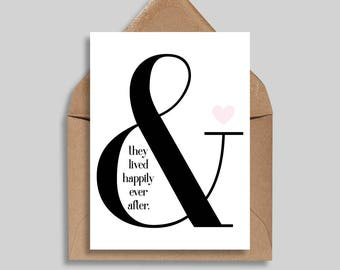 Happily Ever After, Love Cards, Wedding Cards, Anniversary Cards, Engagement Cards