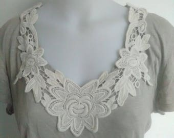 Neck lace sewing