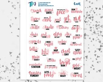 Coral Typography Sampler [246]