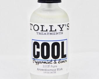 COOL - Aromatherapy Mist | Peppermint & Lemon