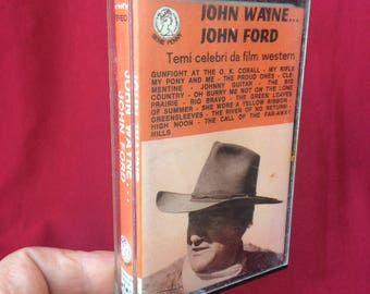 Vintage cassette music westerns movies soundtrack ost 70s audio tapes
