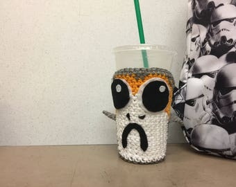Porg Inspired Cozy | Cup Size! | Star Wars: The Last Jedi